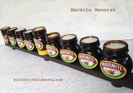 cheap menorah marmite menorah bible belt balabusta