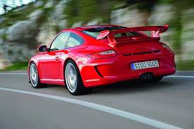 porsche gt3 red porsche 911 gt3 997 red rear motion revival sports cars
