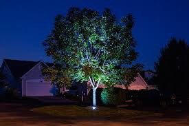 rgb led in ground well light 9 watt led well lights uplighting trees