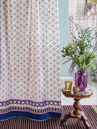 Magenta Curtain Panels Bohemian Curtains Moroccan Curtains India Curtains Exotic