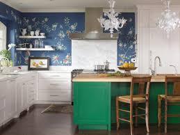 papier peint pour cuisine blanche quelle couleur pour une cuisine chic 40 idées de peinture et