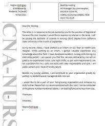 cna cover letter example sample resume for endoscopy nurse nurse