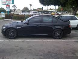 Bmw M3 Blacked Out - blacked out e90