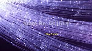 fiber optic light strands diy sparkle fiber optic lighting curtain 1200 strands 0 75mm 4m