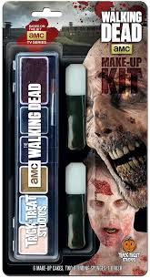 makeup kit blister package design for the walking dead beats