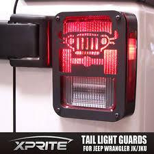 custom jeep tail light covers jeep jk tail light guards ebay