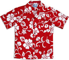 classic hibiscus boys hawaiian shirts hawaiian