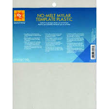 Plastic Template Sheets Ez Quilting Mylar No Melt Templates Pack
