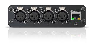 ani4in audio network interface shure americas