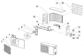 air conditioner parts for assembling and repairing manufacturer