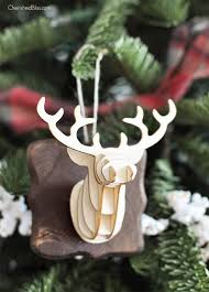 3d deer ornament cherished bliss