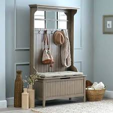 Entryway Bench Coat Rack Large Image For Mini Hall Tree Storage Bench Coat Rack