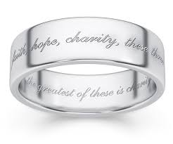 bible verse rings 1 corinthians 13 bible verse ring in sterling silver