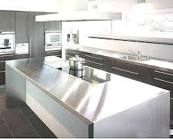 plan de travail cuisine professionnelle plan de travail inox cuisine dr cuisines plan de travail en inox