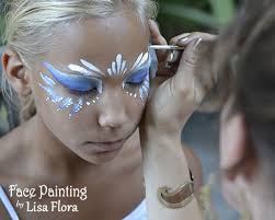 magical makeovers kids frozen face painting hair braiding glitter