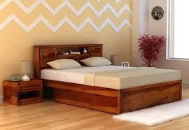 King Size Headboard With Storage King Size Beds Buy King Size Bed India Upto 60