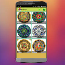 Turn Pictures Into Coloring Pages App Mandala Coloring Pages Android Apps On Google Play