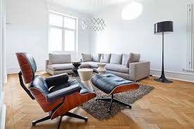 Used Eames Lounge Chair Eames Lounge Chair Replica Vitra Black Manhattan Home Design