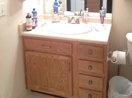 how to paint a bathroom vanity diy makeover in how paint old