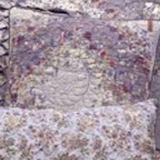 Secret Garden Wall by Secret Garden Floral Irish Chain Quilt By Donna Sharp