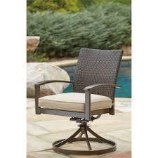 Halcyon Patio Furniture Swivel Patio Dining Chairs You U0027ll Love Wayfair