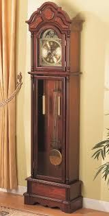 How To Transport A Grandfather Clock Grandfather Clock With Battery Operated Pendulum And Roman Numeral