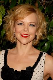 midway to short haircut styles emily bergl blousing short hairstyle midway upon the neck and