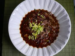 Water Challenge Asian A Sichuan Outlaw Shui Zhu Or Water Boiled Dishes May Be