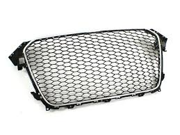 audi rs4 grill audi rs4 b8 5 grille with chrome trim for a4 s4