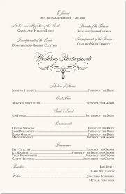 wedding programs exles flourish mongram catholic mass wedding ceremony catholic wedding