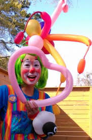 balloons clown hire blue sky times clown in houston