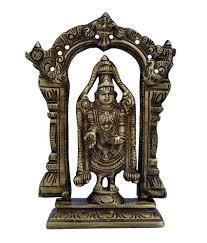aakrati lord tirupati balaji idol of brass a divine home decor