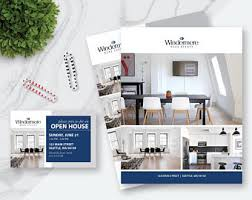 real estate door hanger template 7 photos double sided