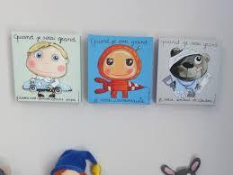 tableaux chambre enfant impressionnant tableau chambre garcon ravizh com