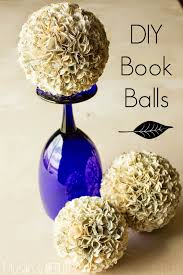 book balls hydrangea christmas ornament and centerpieces