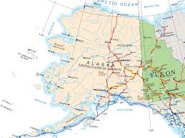 Map Of Canada And Alaska by Alaska Map