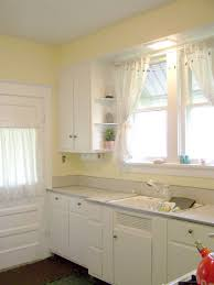 yellow kitchen walls white cabinets yellow kitchen decor to brighten your cooking space diy