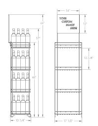 inexpensive wine displays and retail wine racks for your showroom