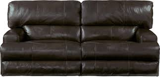 Catnapper Power Reclining Sofa Catnapper Wembley Top Grain Italian Leather Leather Power Headrest