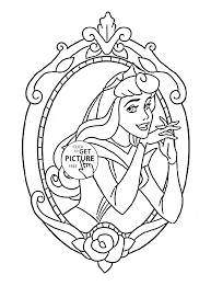 disney princess aurora coloring page for kids disney princess