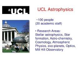 ppt ucl astrophysics powerpoint presentation id 4495555