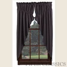 How To Hang Curtain Swags by Gathered Swag Curtains Piper Classics