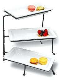 tiered serving stand three tier serving stand tiered serving stand swivel owiczart