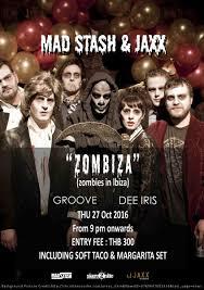 dj halloween background mejico 3 day scare fest halloween party 27 29 30 oct 2016 pr