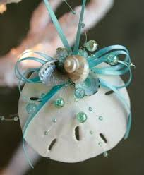 how to make seashell ornaments aqua and ornament