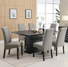 Macys Dining Room Chairs Enchanting Darktco Dining Table With Upholstered And Cozy