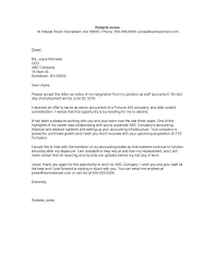 best ideas of resignation letter format for accounting staff in