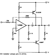 power booster scheme amplifier circuit design