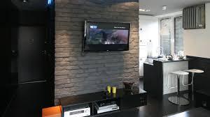 salon home cinema mały salon z aneksem małe mieszkanie 5 projektów salonu z