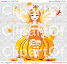 pumpkin no background royalty free rf clipart illustration of an autumn fairy sitting
